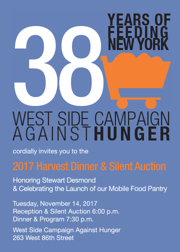 West Side Campaign Against Hunger Harvest Dinner