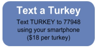 Text a Turkey