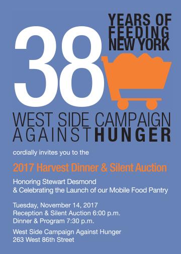 West Side Campaign Against Hunger Harvest Dinner