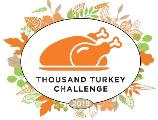 1000 Turkey Challenge Launch taking place on November 19, 2019 at West Side Campaign Against Hunger at 12:30 p.m.